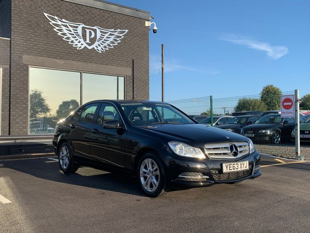 USED 2013 63 MERCEDES-BENZ C CLASS 2.1 C220 CDI BLUEEFFICIENCY EXECUTIVE SE 4d 168 BHP AA WARRANTY,  MOT AND SERVICE INCLUDED