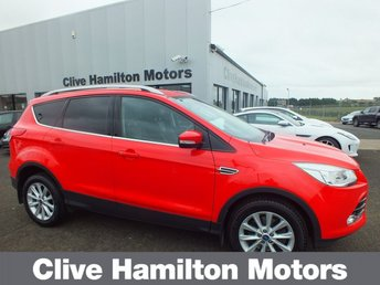 2015 FORD KUGA TITANIUM 2.0 TDCI 2WD 1/2 LEATHER & PARK SENSORS