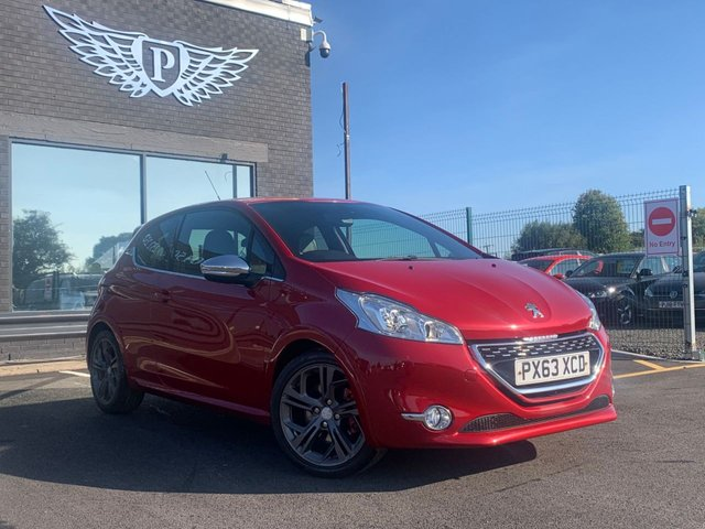 USED 2014 63 PEUGEOT 208 1.6 THP GTI 3d 200 BHP AA WARRANTY,  MOT AND SERVICE INCLUDED
