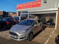 USED 2015 15 FORD FIESTA 1.5 TITANIUM TDCI 5d 74 BHP 6413 MILES ONLY, LOW CO2 EMISSIONS, 98 G/KM, ZERO ROAD TAX, HIGH SPEC WITH DAYTIME RUNNING LIGHTS, ELECTRIC FRONT WINDOWS, AIR CON, ALLOYS, REAR PARKING SENSORS, HEATED WINDSCREEN, STEERING WHEEL CONTROLS, BLUETOOTH AND AUX INPUT, MEETS LARGE CITY EMISSION STANDARDS!