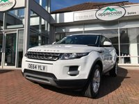 USED 2015 64 LAND ROVER RANGE ROVER EVOQUE 2.2 SD4 PURE TECH 5d AUTO 190 BHP 2 Owners from new Plus a Full Land Rover Service Record. Freshly serviced by Applecross Land Rover Specialists and offered for sale Properly prepared and with a 6 month Extendable Warranty.