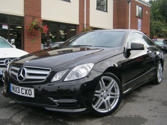 2013 MERCEDES-BENZ E CLASS 3.0 E350 CDI BLUEEFFICIENCY SPORT 2d AUTO 265 BHP £10995.00