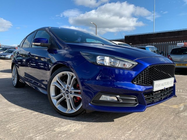USED 2015 15 FORD FOCUS 2.0 ST-2 TDCI 5d 183 BHP 2KEYS+ALLOYS+PARK+HALFLEATHER+FSH+20 ROAD TAX+AIRCON+PRIVGLASS+FSH+