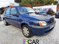 USED 2000 FORD FIESTA 1.3 FINESSE 5d 59 BHP 2 PRV KEEPERS + PART HISTORY