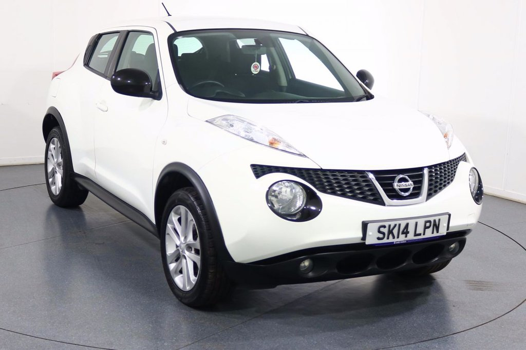 USED 2014 14 NISSAN JUKE 1.6 ACENTA 5d 117 BHP 2 OWNERS with 4 Stamp SERVICE HISTORY