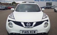 USED 2015 15 NISSAN JUKE 1.5 ACENTA DCI 5d 110 BHP 1 OWNER FROM NEW, LONG MOT UNTIL 03/2020, RECENTLY SERVICED, GREAT SPEC INCLUDING BLUETOOTH, ALLOYS, AIR CON!