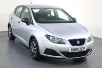 USED 2010 10 SEAT IBIZA 1.2 S A/C 5d 68 BHP 8 Stamp SERVICE HISTORY