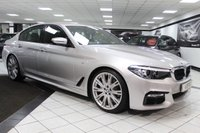 USED 2018 18 BMW 5 SERIES  520D M SPORT AUTO 190 BHP 1 OWNER 20'S SERVICE INCLUSIVE