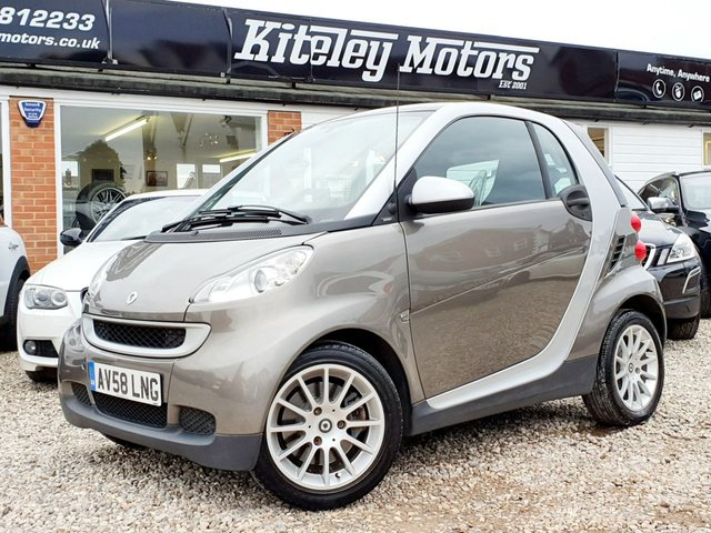 2009 58 SMART FORTWO 1.0 PASSION 84BHP POWER STEERING