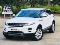 USED 2015 15 LAND ROVER RANGE ROVER EVOQUE 2.2 SD4 PURE TECH 5d AUTO 190 BHP AWD Tech pack, Sat Nav, Full leather / heated seats