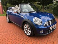 2011 MINI CONVERTIBLE 1.6 COOPER 2d AUTO 122 BHP £7990.00