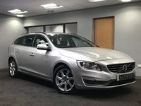 USED 2015 15 VOLVO V60 2.0 D3 SE NAV 5d 134 BHP excellent condition
