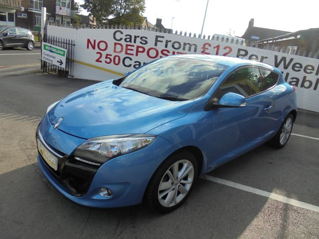 USED 2012 12 RENAULT MEGANE 1.5 DYNAMIQUE TOMTOM ENERGY DCI S/S 3d 110 BHP