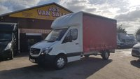 2017 MERCEDES-BENZ SPRINTER CURTAIN SIDE 314CDI 140 BHP LWB (( EURO 6 LEZ )) £15995.00