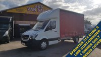 USED 2017 17 MERCEDES-BENZ SPRINTER CURTAIN SIDE 314CDI 140 BHP LWB (( EURO 6 LEZ )) (( SPRINTER EURO 6 C/SIDER 2017/17 REG ))