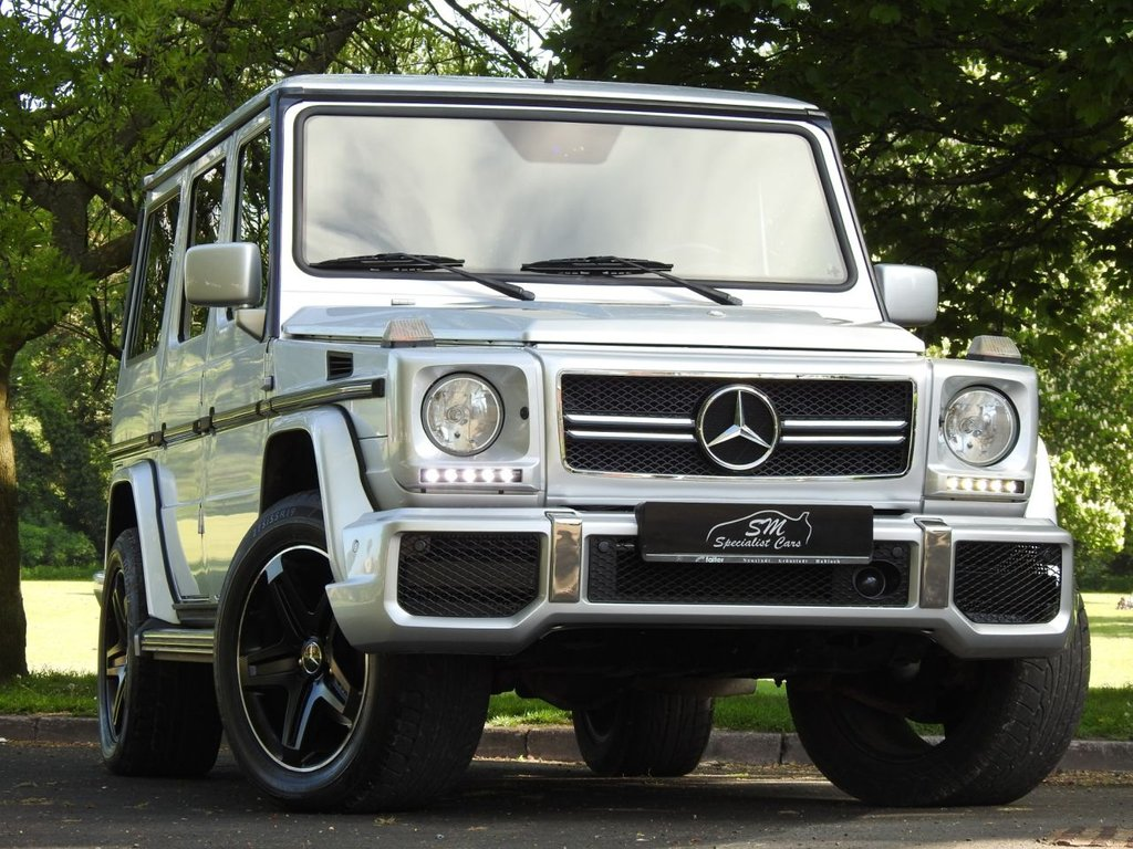USED 2002 51 MERCEDES-BENZ G-CLASS 4.0 G400 CDI 5d AUTO 250 BHP G63 REPLICA / BRABUS STYLING LEFT HAND DRIVE