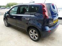USED 2012 61 NISSAN NOTE 1.4 16v n-tec+ 5dr TWO OWNERS - TEST DRIVE TODAY!