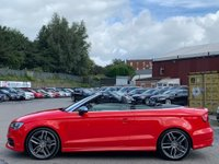 USED 2015 15 AUDI A3 2.0 TFSI Cabriolet S Tronic quattro 2dr DAB/HeatedSeat/Cruise/Xenons