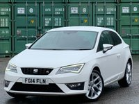USED 2014 14 SEAT LEON 2.0 TDI CR CR FR (Tech Pack) SportCoupe (s/s) 3dr Nav/Xenons/DAB/StartStop
