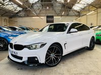 USED 2017 17 BMW 4 SERIES 2.0 420d M Sport Gran Coupe (s/s) 5dr FACELIFT + 19 PERFORMANCE KIT
