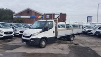 USED 2016 66 IVECO DAILY DROPSIDER PICKUP 35C15 146 BHP (( EURO 6 EXTRA LWB )) (( THE BIG ONE TWIN WHEEL ALLOY BODY ))