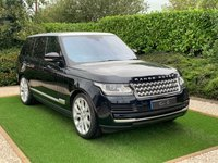 USED 2016 66 LAND ROVER RANGE ROVER 3.0 TDV6 VOGUE 5d AUTO 255 BHP A Spectacular Example with Over £13K of Additional Options, Presented in Superb Condition with 21 Inch Alloy Wheels, Panoramic Glass Roof and a Luxurious Full Black Leather Interior. Premium Features Include Twin Screen Factory Fitter Rear Entertainment with DVD Player and Bluetooth Headsets, Heads Up Display, Touchscreen System with HDD Satellite Navigation, Digital TV Function, Reversing Camera and DAB Radio. Meridian Premium Sound, Bluetooth Connectivity, Front & Rear Park Distance Control