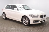 USED 2018 18 BMW 1 SERIES 1.5 116D SE BUSINESS 5DR 114 BHP FULL BMW SERVICE HISTORY + SATELLITE NAVIGATION + PARKING SENSOR + BLUETOOTH + CRUISE CONTROL + MULTI FUNCTION WHEEL + AIR CONDITIONING + DAB RADIO + XENON HEADLIGHTS + ELECTRIC WINDOWS + RADIO/CD/USB + ELECTRIC MIRRORS + 16 INCH ALLOY WHEELS