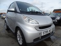 2009 SMART FORTWO 1.0 PASSION 2d AUTO 70 BHP £2100.00