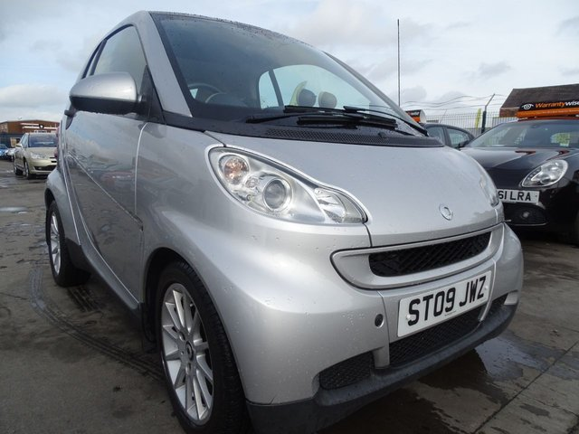 USED 2009 09 SMART FORTWO 1.0 PASSION 2d AUTO 70 BHP