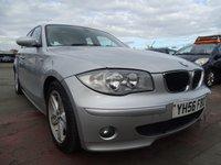 2006 BMW 1 SERIES 2.0 120D SPORT 5d 161 BHP £2295.00