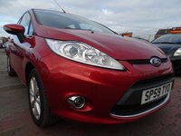 2009 FORD FIESTA 1.2 ZETEC 5d GREAT FIRST CAR LOW MILES  £3000.00