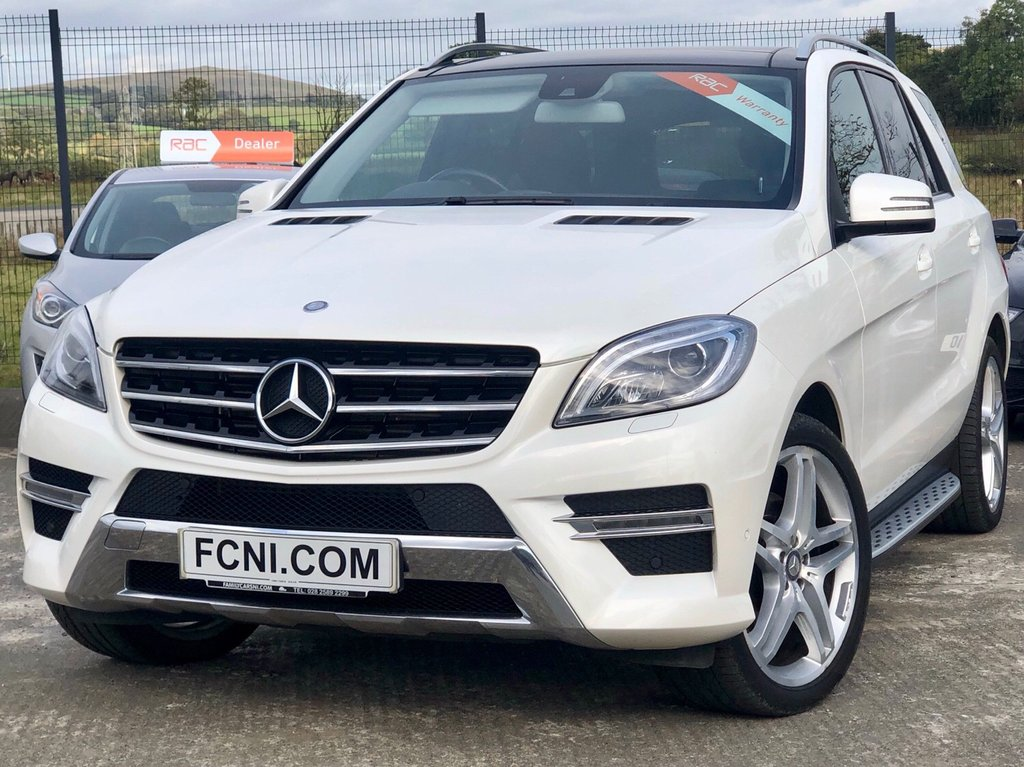 USED 2015 MERCEDES-BENZ M CLASS 3.0 ML350 BLUETEC AMG LINE PREMIUM 5d AUTO 255 BHP FROM ONLY £249 // MONTH