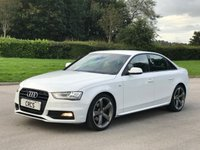 2013 AUDI A4 2.0 TDI BLACK EDITION 4d 174 BHP SOLD
