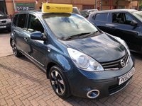 USED 2012 62 NISSAN NOTE 1.4L N-TEC PLUS 5d 88 BHP