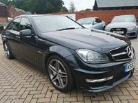 USED 2014 63 MERCEDES-BENZ C 63 AMG 6.2 C63 AMG 4d AUTO 457 BHP FMSH+LEATHER+CRUISE+MEMORY+BT+SUNROOF