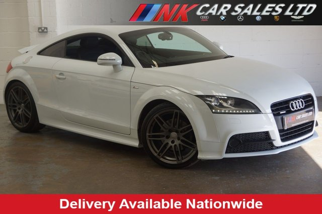 2012 61 AUDI TT 2.0 TDI QUATTRO S LINE BLACK EDITION 2d 168 BHP 19 INCH ALLOYS,HEATED SEATS  SOLD TO DUNCAN FROM NOTTINGHAM