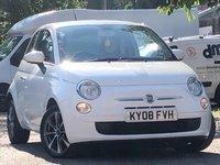 2008 FIAT 500 1.2L POP DUALOGIC 3d 69 BHP £3250.00
