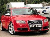 2005 AUDI A4 3.1L FSI QUATTRO S LINE 4d 255 BHP £3999.00