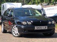 2005 JAGUAR X-TYPE 2.5L V6 SPORT 5d AUTO 195 BHP £2299.00