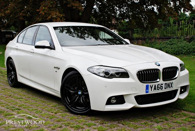 2016 66 BMW 5 SERIES 520D M SPORT STEP AUTO [190 BHP] 4 DOOR SALOON