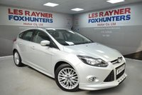 USED 2014 14 FORD FOCUS 1.6 ZETEC S ECOBOOST 5d 178 BHP DAB Radio, Park sensors, 2 Keys, Low miles, Great reliability
