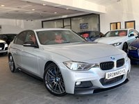 USED 2015 15 BMW 3 SERIES 3.0 330D M SPORT 4d AUTO 255 BHP BM PERFORMANCE STYLING+PRO NAV