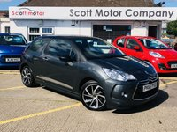 2015 DS DS 3 1.6 BlueHDi DStyle Nav S/S £SOLD