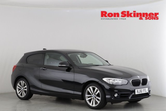 View our 2016 16 BMW 1 SERIES 2.0 118D SPORT 3d 147 BHP