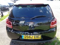 USED 2013 62 CITROEN DS3 1.6 E-HDI AIRDREAM DSPORT 3d 111 BHP FREE TAX