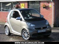 USED 2013 63 SMART FORTWO 0.8 CDI PASSION (SAT NAV+DIESEL) AUTO GREAT SPEC AND HISTORY + DIESEL
