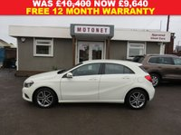 2013 MERCEDES-BENZ A CLASS 1.8 A200 CDI BLUEEFFICIENCY SPORT 5DR DIESEL 136 BHP £SOLD