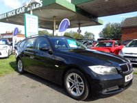 USED 2008 08 BMW 3 SERIES 2.0 318D SE TOURING 5d 141 BHP 9 SERVICE STAMPS