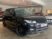 USED 2017 67 LAND ROVER RANGE ROVER SPORT 3.0 SDV6 HSE DYNAMIC 5d AUTO 306 BHP 7 SEAT +7 SEATS+PAN ROOF+1 OWNER+