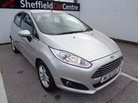 USED 2015 15 FORD FIESTA 1.2 ZETEC 5d 81 BHP £160 A MONTH ALLOY WHEELS BLUETOOTH  AIR CONDITIONING ELECTRIC WINDOWS CENTRAL LOCKING FULL SERVICE HISTORY